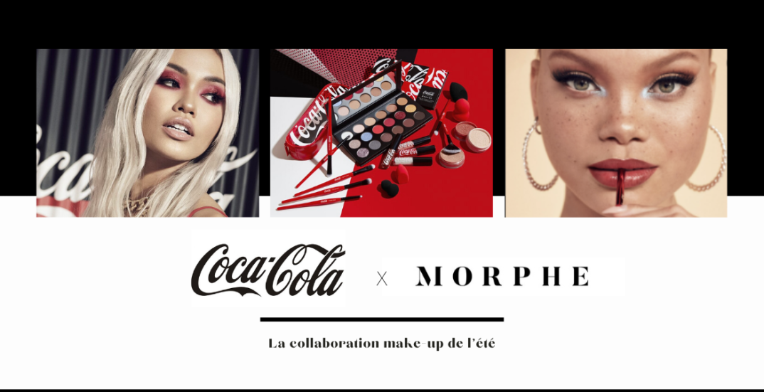 Coca-Cola x Morphe : la collaboration make-up de l'été - moodbyingrid